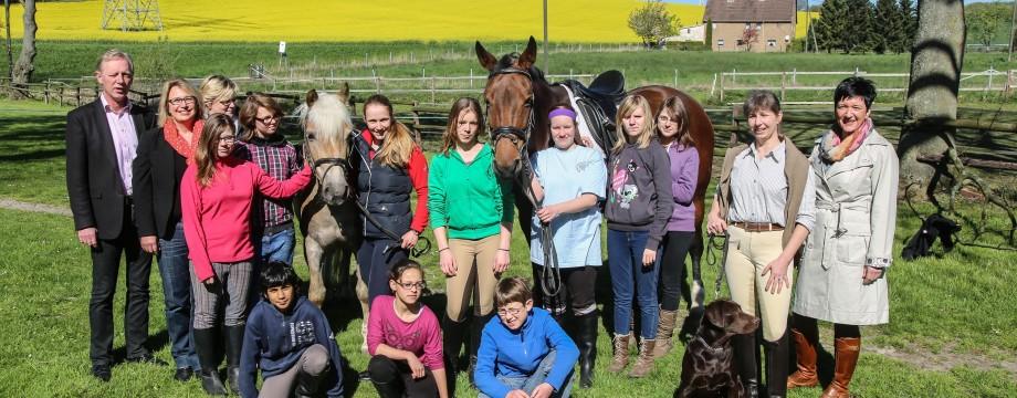w-Kirchlinde PK Jugendliche Aktion Reiterverein